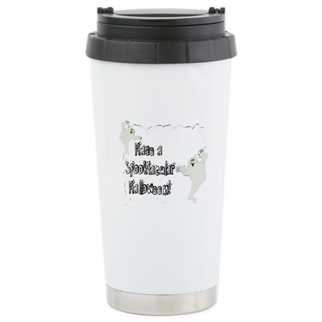 Spooktacular Halloween Ceramic Travel Mug