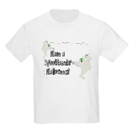 Spooktacular Halloween Kids Light T-Shirt