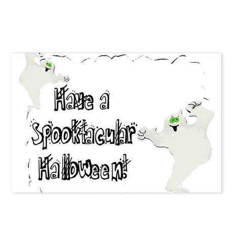 Spooktacular Halloween Postcards (Package of 8)