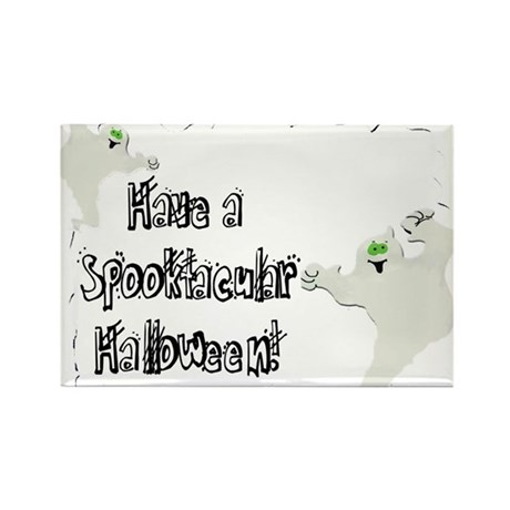 Spooktacular Halloween Rectangle Magnet