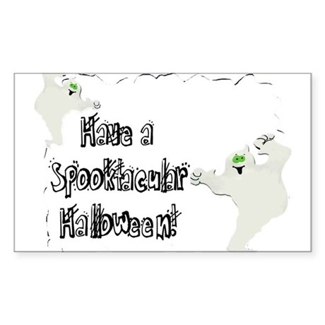 Spooktacular Halloween Rectangle Sticker 10 pk)