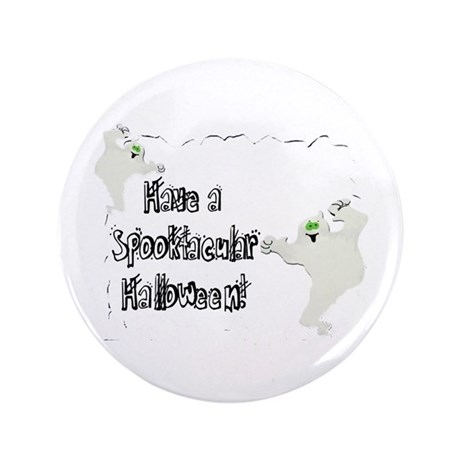 "Spooktacular Halloween 3.5"" Button (100 pack)"