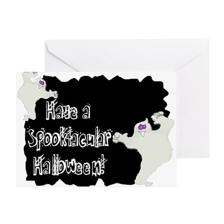 Spooktacular Halloween Greeting Card