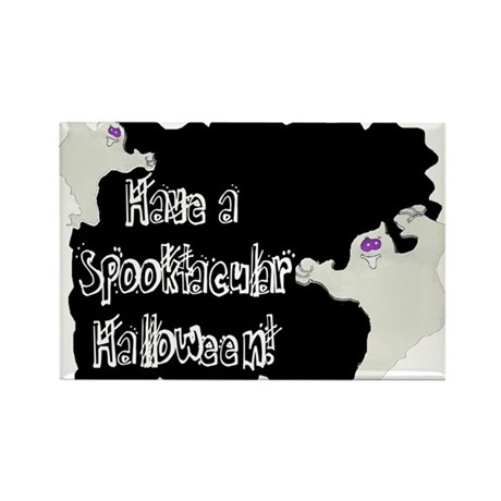 Spooktacular Halloween Rectangle Magnet (100 pack)