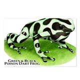 Green & Black Poison Dart Fro Postcards (Package o