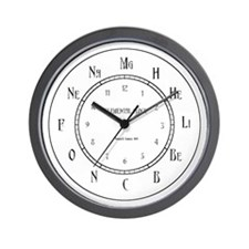 Elemental Wall Clock Wall Clock