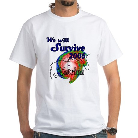 We Will Survive 2005 White T-Shirt