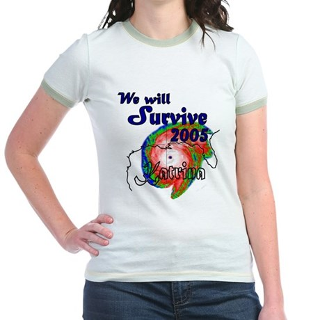 We Will Survive 2005 Jr. Ringer T-Shirt