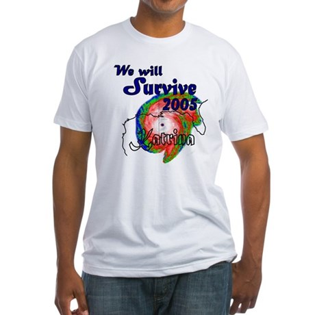 We Will Survive 2005 Fitted T-Shirt
