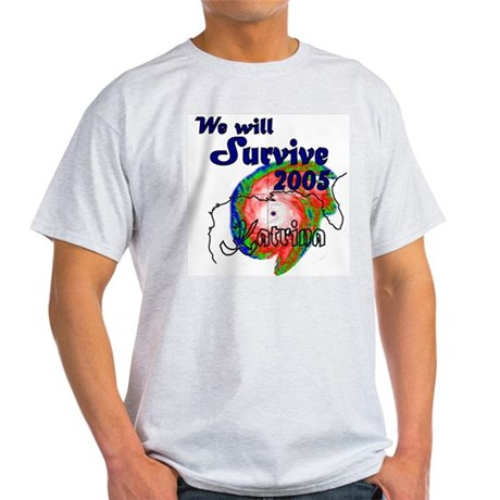 We Will Survive 2005 Ash Grey T-Shirt