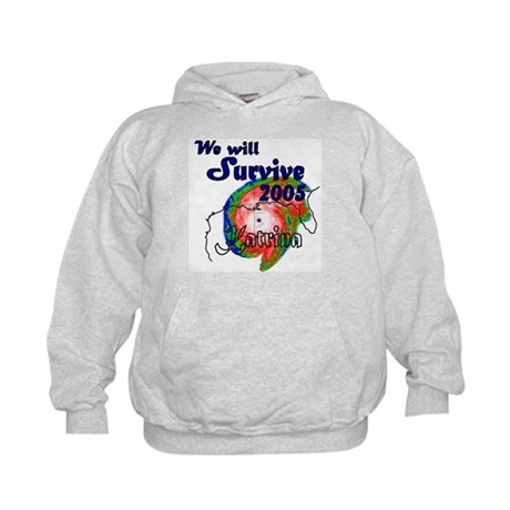 (Kids) We Will Survive 2005 Kids Hoodie
