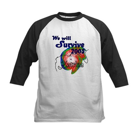 (Kids) We Will Survive 2005 Kids Baseball Jersey