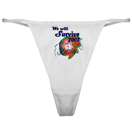 We Will Survive 2005 Classic Thong