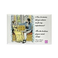 Bennetgirls Jane Austen quote Magnet