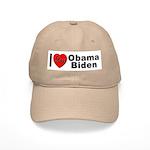 I Love Obama Biden Cap