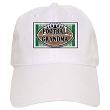 Football Grandma Baseball Cap
