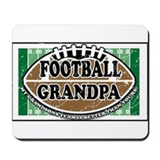Football Grandpa Mousepad