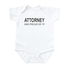 The Proud Attorney Onesie