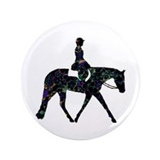 """Hunter Floral 3.5"""" Button (100 pack)"""