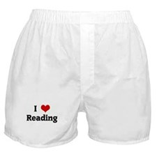 I Love Reading Boxer Shorts
