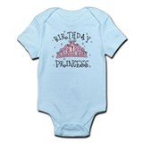 Tiara Birthday Princess 1st  Baby Onesie
