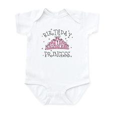 Tiara Birthday Princess 1st Infant Bodysuit