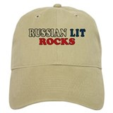 Russian Lit Rocks Baseball Cap