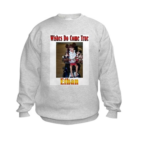 Wishes Do Come True Kids Sweatshirt