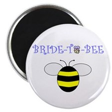 """BRIDE-TO-BEE 2.25"""" Magnet (100 pack)"""