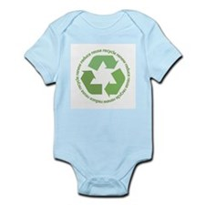 Recycle Symbol Infant Bodysuit