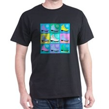 Frosty Colors Ice Skates T-Shirt