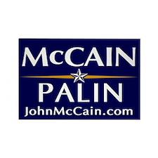 McCain / Palin Official Logo Rectangle Magnet