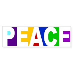 Peace Without Borders Bumper Sticker