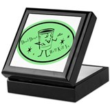 Green - Dead Diner Keepsake Box