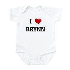 I Love BRYNN Infant Bodysuit