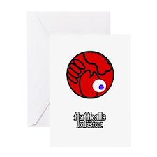 Fluffball Lobster Greeting Card