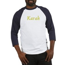 Karah in Gold - Baseball Jersey