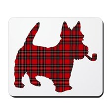 Scottish Terrier Tartan Mousepad