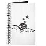 Peace & Love Skull with Wings Journal