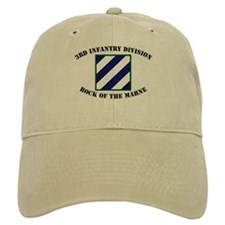 3ID Rock of the Marne Baseball Cap