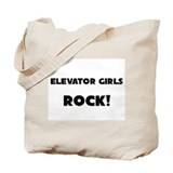 Elevator Girls ROCK Tote Bag