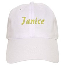 Janice in Gold - Baseball Cap