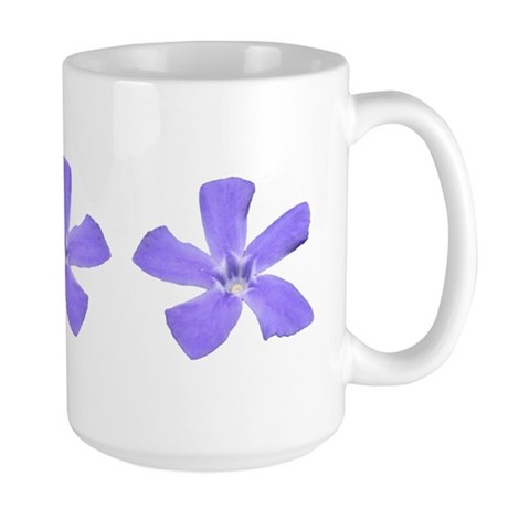 Periwinkle Art Large Mug