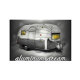 Cute Airstream Rectangle Magnet