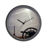Moonlight over Antietam Wall Clock