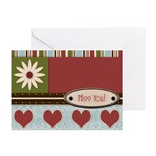 Miss You Greeting Cards (Pk of 10)