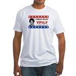 Sarah Palin VPILF Fitted T-Shirt