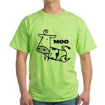 Moo Cow Green T-Shirt