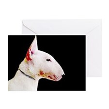 Bull terrier Greeting Cards (Pk of 10)