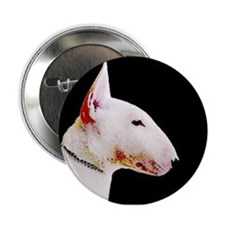 "Bull terrier 2.25"" Button"